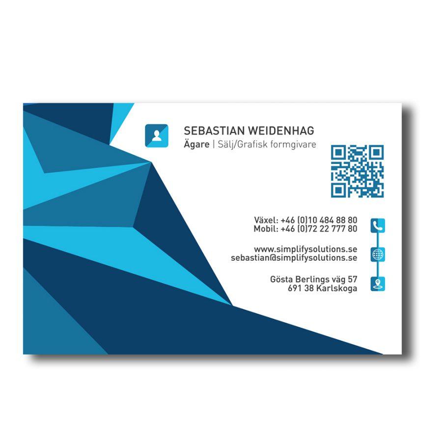 simplify-visitkort