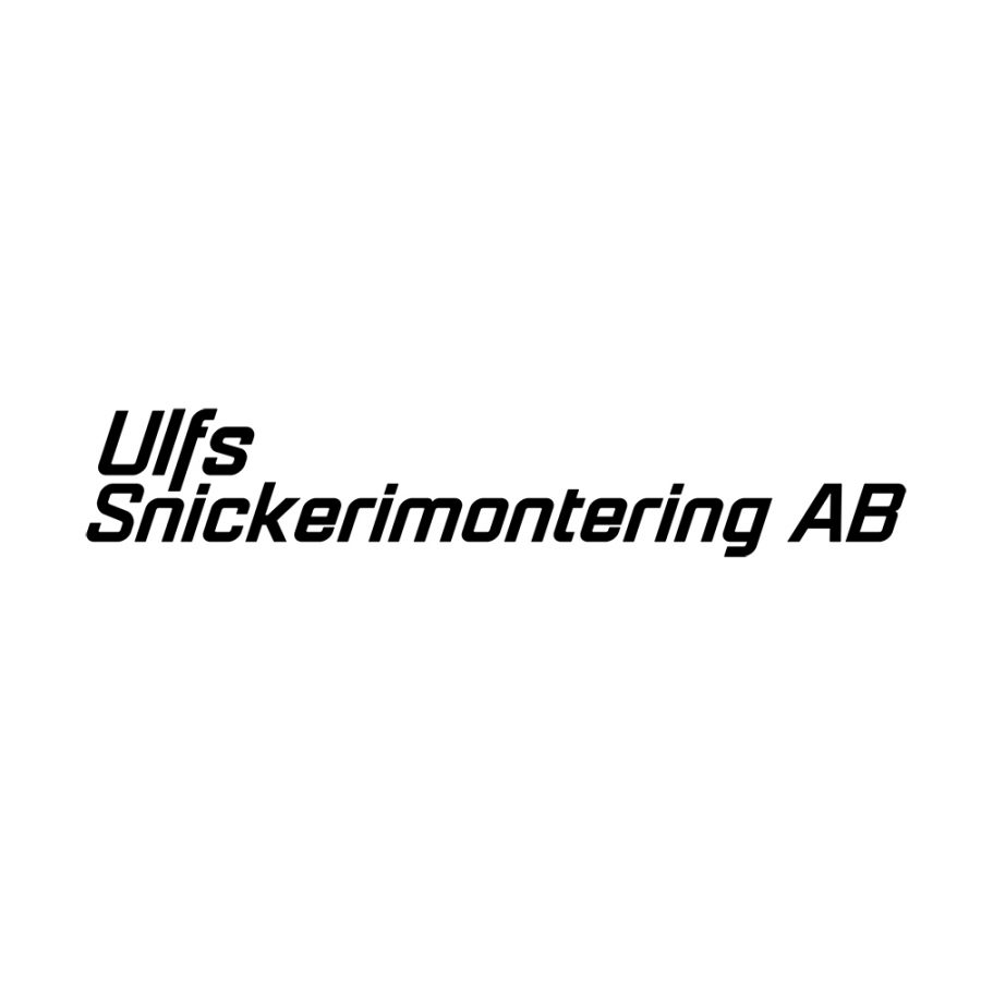 Ulfs Snickerimontering
